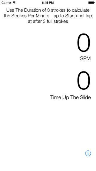 Strokes Per Minute