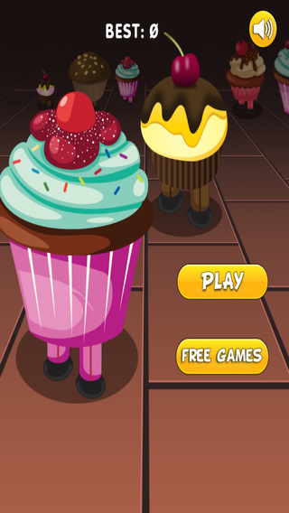 Tap the Cupcakes - Fast Dessert Shooter