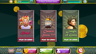 A Lucky Gold Slots Free Bonus Game