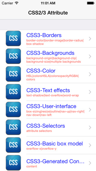 CSS Attribute All In One