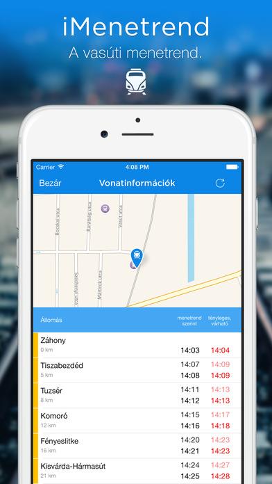 iMenetrend iPhone Screenshot 3