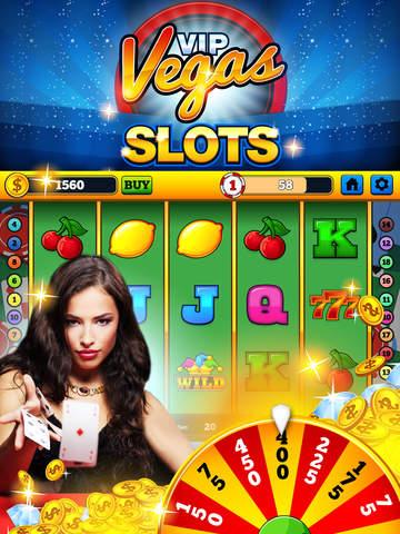 iPad Image of VIP Vegas Slots - Free Casino Slot Machine Games and Wheel of Fortune