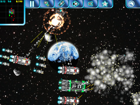 Screenshot #1 for Space Borders: Alien Encounter