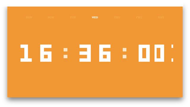 Digit Clock