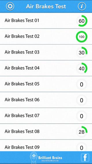 Air Brakes Test iPhone Screenshot 1