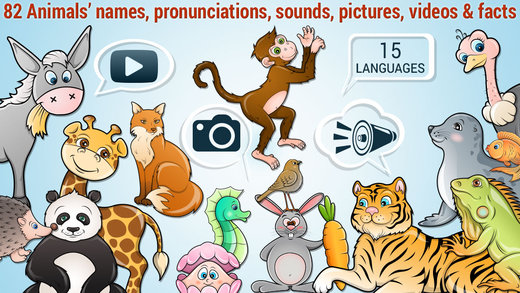 82 Kids Puzzles Learn Animals - Cute Puzzle with Animal names sounds real pictures videos and fun fa