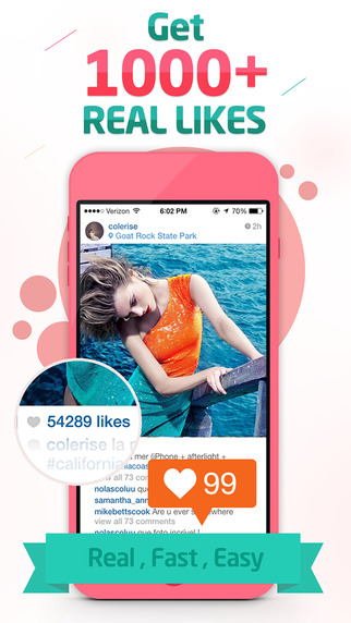 Get Likes for Instagram - Gain More Free Instagram Likes Followers