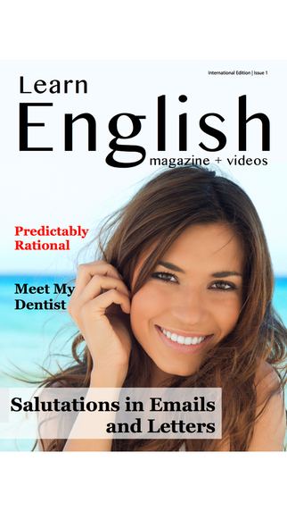 Learn English - Your Magazine and Online Video Course for Learning to Speak English with Confidence
