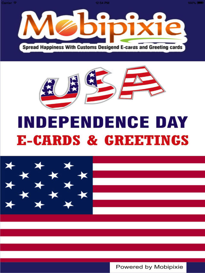 usa independence day ecards greetings ios store store top apps app annie. Black Bedroom Furniture Sets. Home Design Ideas