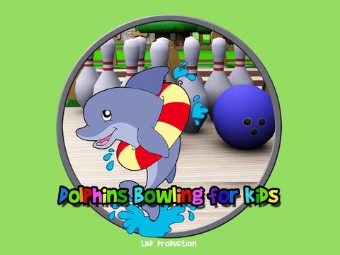 Dolphin bowling for kids vip iPad Screenshot 5