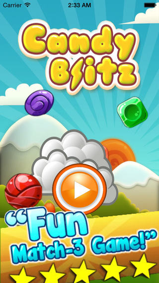 Candy Blast Blitz-Pop and Match candies Puzzel Game for Kids Children