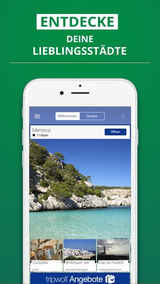 Menorca - dein Reiseführer mit Offline Karte von tripwolf Guide für Sehenswürdigkeiten Touren und Ho