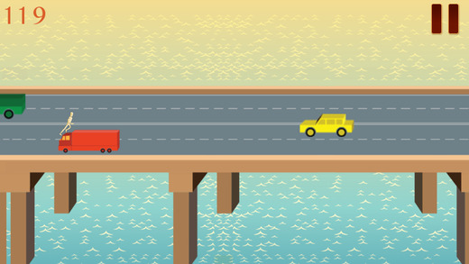 Avoid Turbo Dummy Crashing - Dismount Crossy Bridge Builder As Infinite Runner Pro