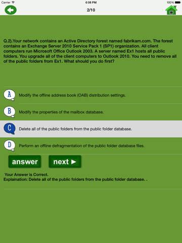 MCTS 70-662 Exam Prep Free|玩教育App免費|玩APPs