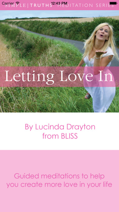 Letting love In by Lucinda Drayton iPhone Screenshot 1