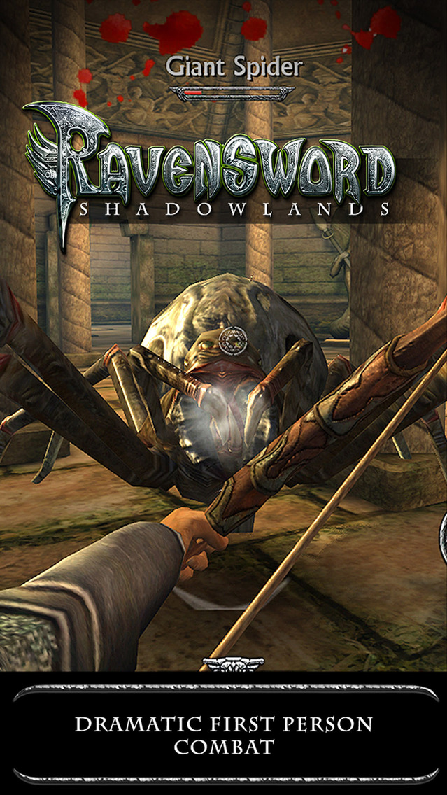 Ravensword: Shadowlands. Скрин 4