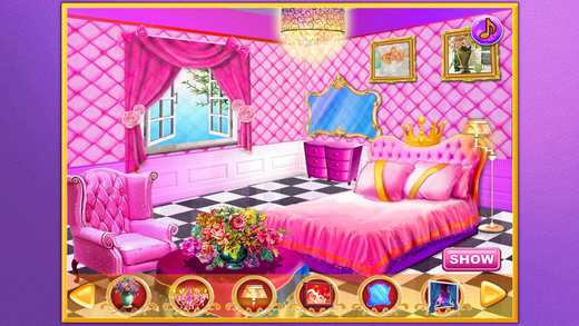 Princess wedding room 2