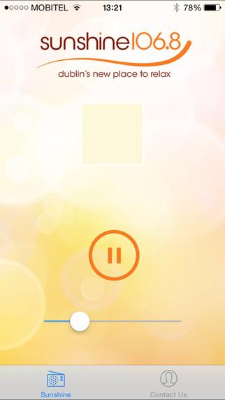Sunshine 106.8 iPhone Screenshot 1