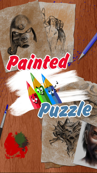 Painted Puzzle - unique puzzle game with pictures' speed painting videos