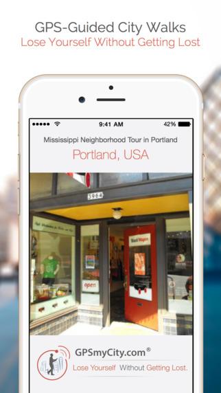 Mississippi Neighborhood Tour in Portland iPhone Screenshot 1