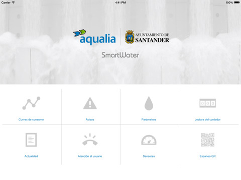 SmartWater para iPad