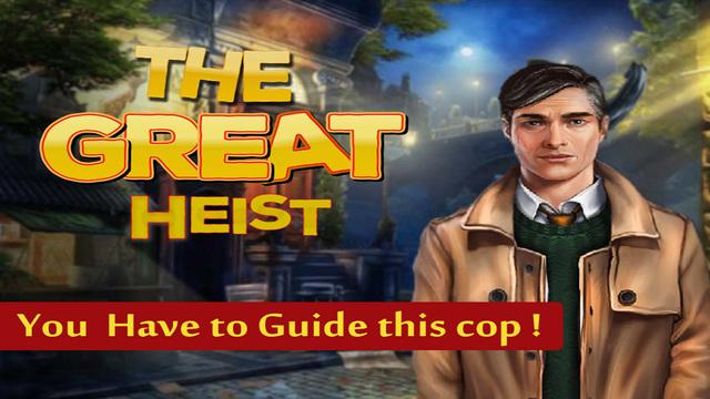 Great Heist - Solve Robbery Case