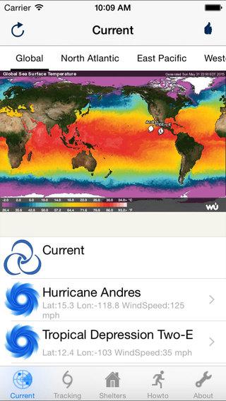 Hurricane Typhoon Track Pro