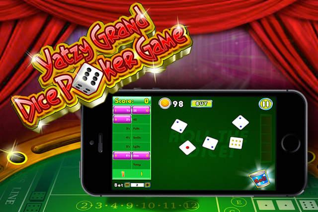 掷骰子大扑克骰子游戏 - 经典滚动播放并赢得