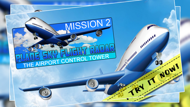 Plane Sky Flight Radar Mission 2 : The Airport 911 Panic Control Tower - Gold Edition