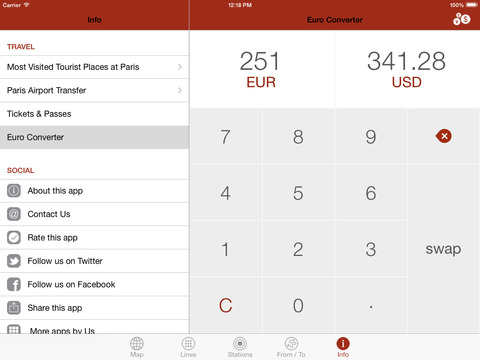 Paris By Metro – Easy subway, Train & Tram Maps screenshot