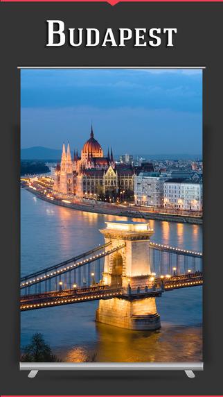 Budapest City Offline Travel Guide