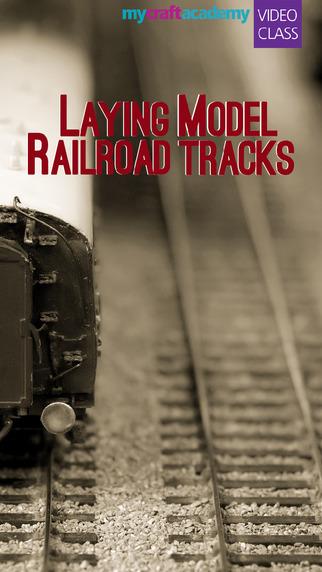 Laying Model Railroad Tracks