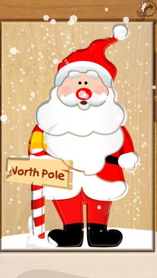 Wood Puzzle Christmas iPhone Screenshot 2
