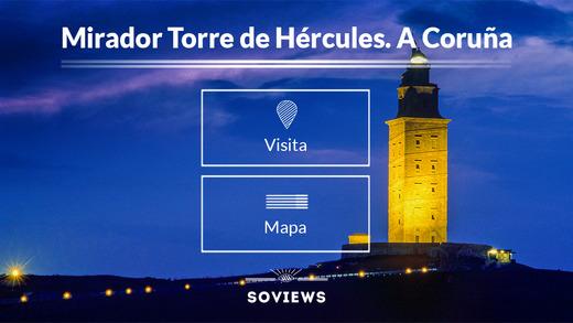 Mirador de la Torre de Hércules. A Coruña