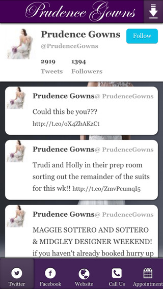 Prudence Gowns