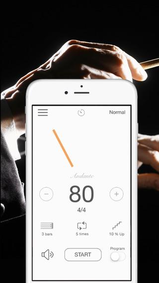 Smart Metronome -Tempo modulation programmable