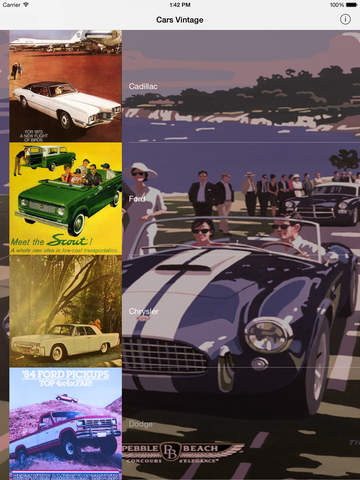 Vintage cars - World Collection Screenshots