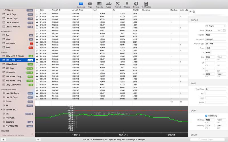 LogTen Pro X Screenshot - 1