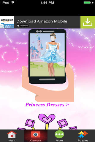 Princess Fairytale Photo Montage screenshot 3