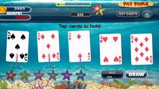 Screenshot 1 Туз Мега Рыба Звездой Покера Pro — игры в карты на двоих казино гранд