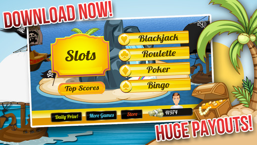 Aargh Pirates Of The Casino with Slots Blackjack Poker and Bingo