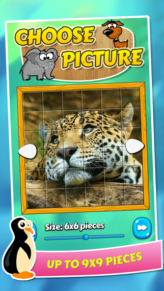 Jigsaw puzzle game for kids