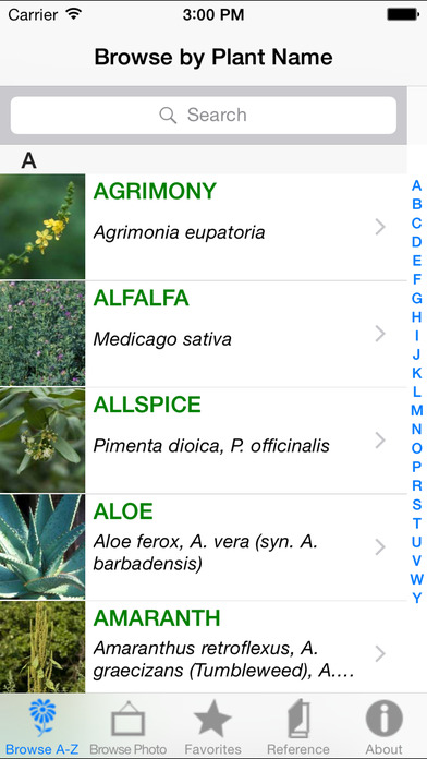 iPlant iPhone Screenshot 1