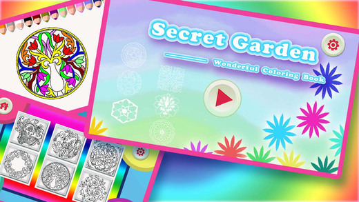 Secret Garden - Wonderful Colouring Book