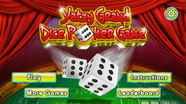 Yatzy Grand Dice Poker Game - Classic Roll And Win Play