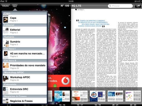 Comunicações iPad Screenshot 3