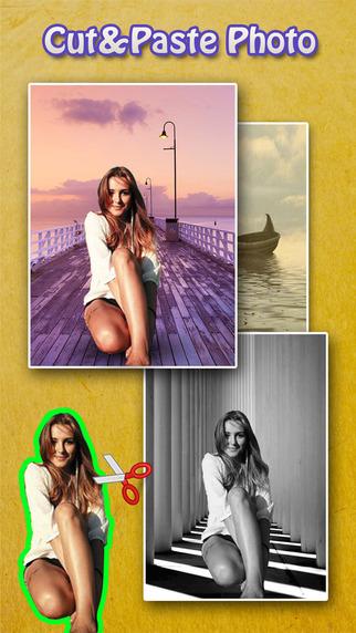 Cut Photo Blender Pro - Background Eraser to Collage Yr Images