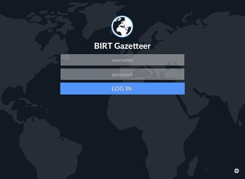 BIRT Gazetteer