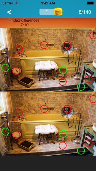 What's the Difference ~ spot the differences find hidden objects part 10