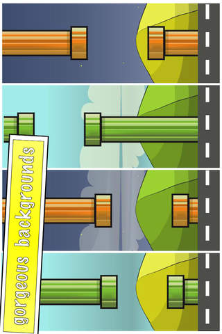 Travel Bird-flappy in the line screenshot 2